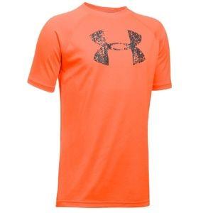 Under Armour Boys' YXS Big Logo T-Shirt